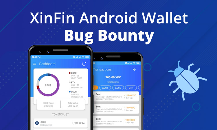 XinFin Android Wallet Bug Bounty
